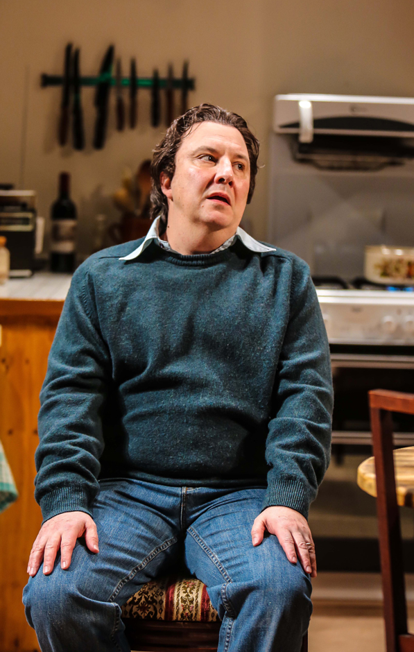 Paul Chahidi (Bill Rodgers) in Limehouse at the Donmar Warehouse - Credit Jack Sain