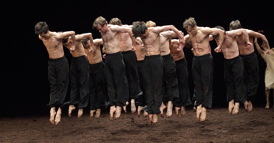 Pina Bauschs - Les Sacre Du Printemps by English National Ballet