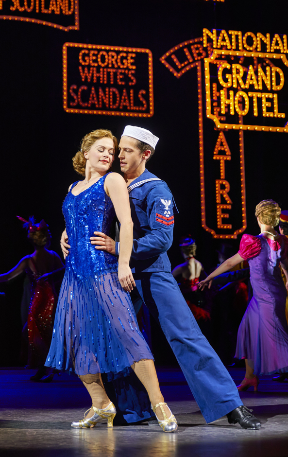 Clare Halse and Stuart Neal in 42nd Street