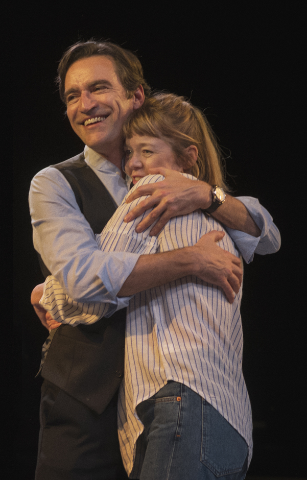 Ben Chaplin and Ann Maxwell Martin in Consent - Credit Sarah Lee