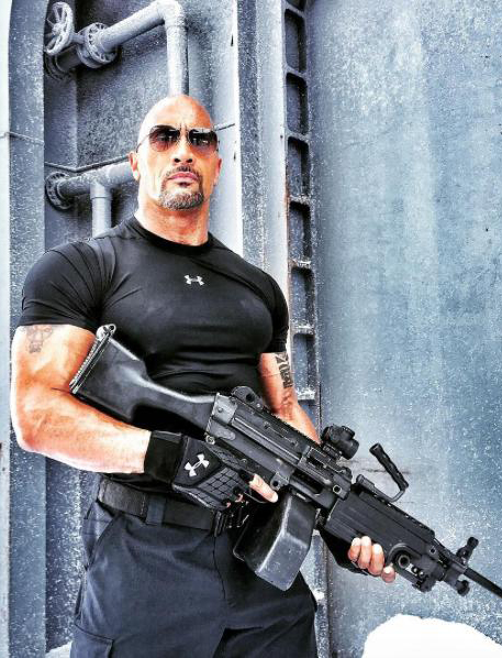 Dwayne Johnson in Fast & Furious 8 - The Fate of the Furious - Credit IMDB