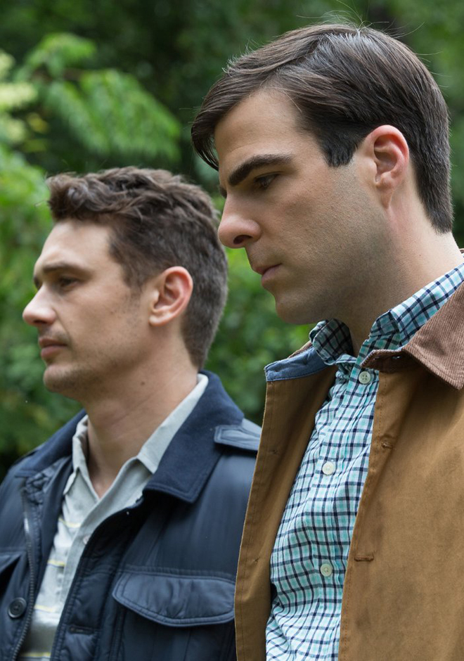 James Franco and Zachary Quinto in I am Michael - Credit IMDB