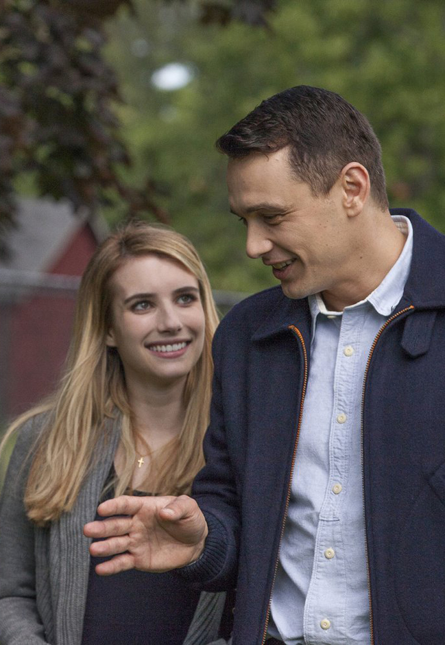 James Franco and Emma Roberts in I am Michael - Credit IMDB