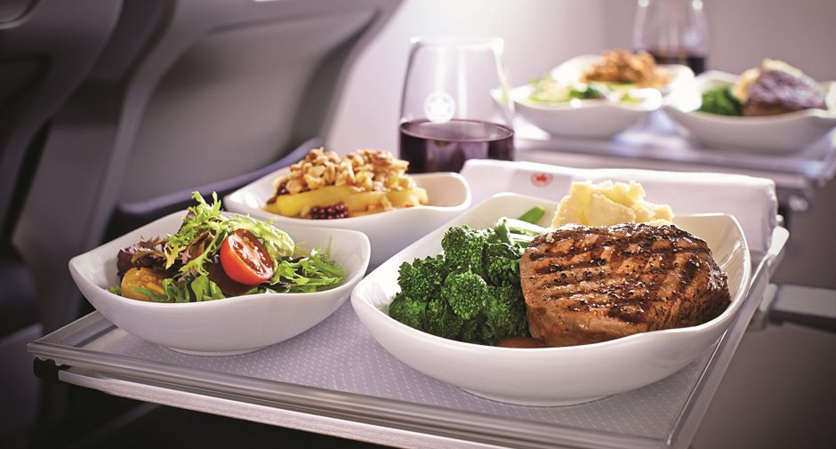 Air Canada - International Premium Economy Meal