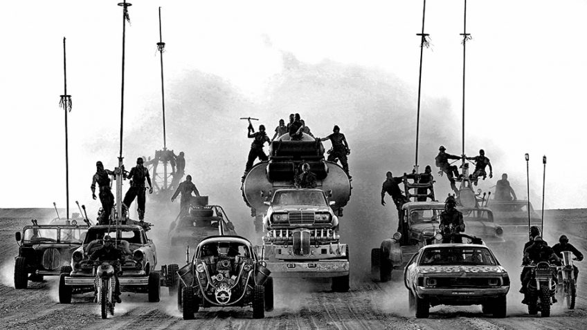 72-year-old director George Miller's preferred black & chrome edition of Mad Max: Fury Road