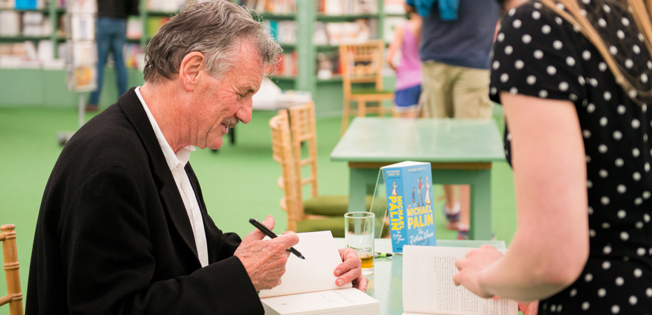 Michael Palin book Signing at Hay Festival 2016 - Credit Sam Hardwick