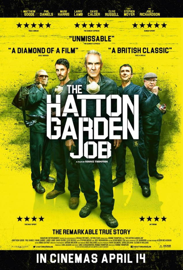 The Hatton Garden Job - Credit IMDB