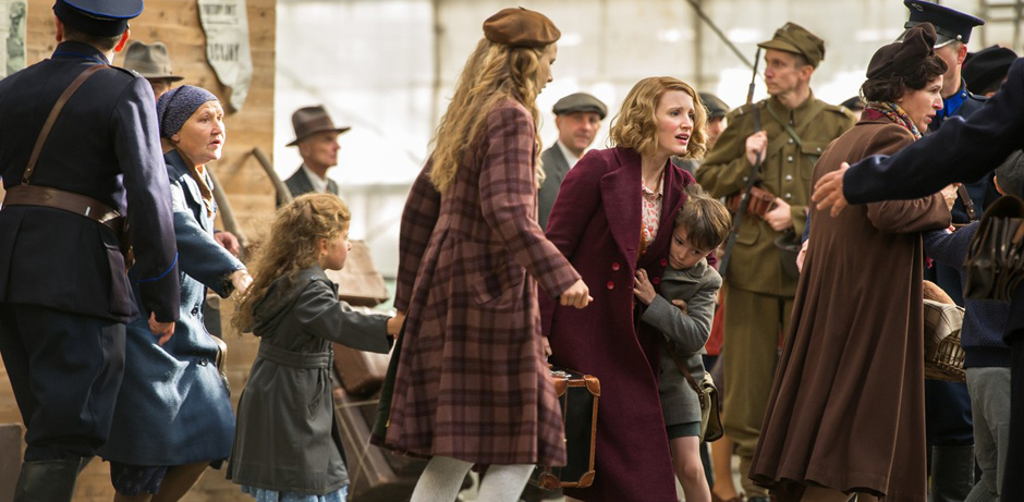 Jessica Chastain in The Zookeeper's Wife - Credit IMDB