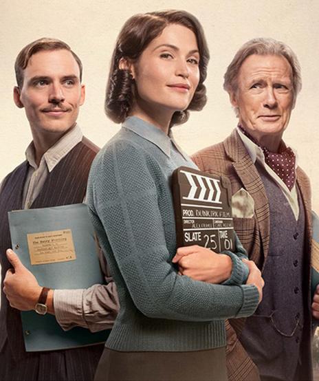 Bill Nighy, Gemma Arterton and Sam Claflin in Their Finest - Credit IMDB