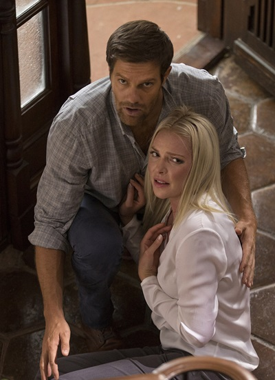 Katherine Heigl and Geoff Stults in Unforgettable - Credit IMDB