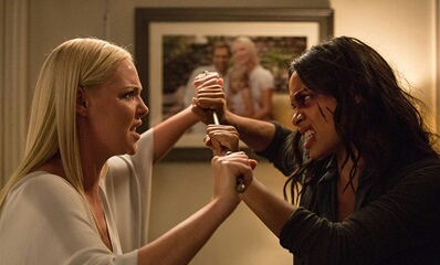 Katherine Heigl and Rosario Dawson in Unforgettable - Credit IMDB