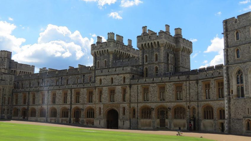 A walk around Windsor Castle