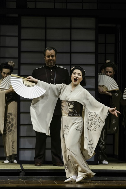 Madam Butterfly by Giacomo Puccini performed by the Welsh National Opera (WNO) - Credit Jeremy Abrahams
