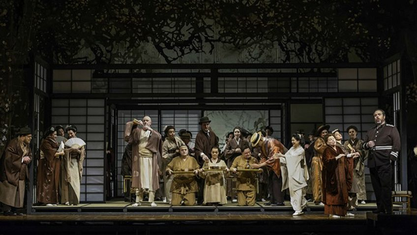 Madam Butterfly by Giacomo Puccini performed by the Welsh National Opera (WNO)