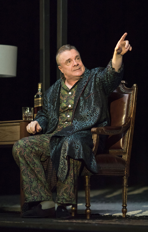 Nathan Lane in Angels in America - Millennium Approches - Copyright Helen Maybanks