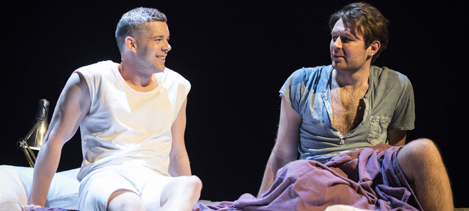 Russell Tovey and James McArdle in Angels in America - Perestroika - Copyright Helen Maybanks