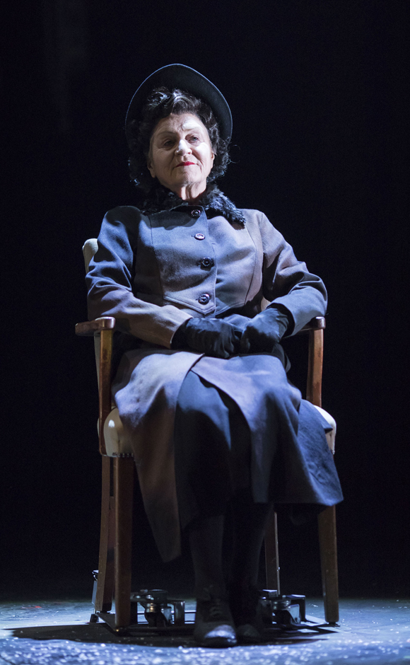 Susan Brown in Angels in America - Perestroika - Copyright Helen Maybanks