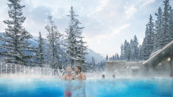 An ideal place to start your tour of the Canadian Rockies is in Banff