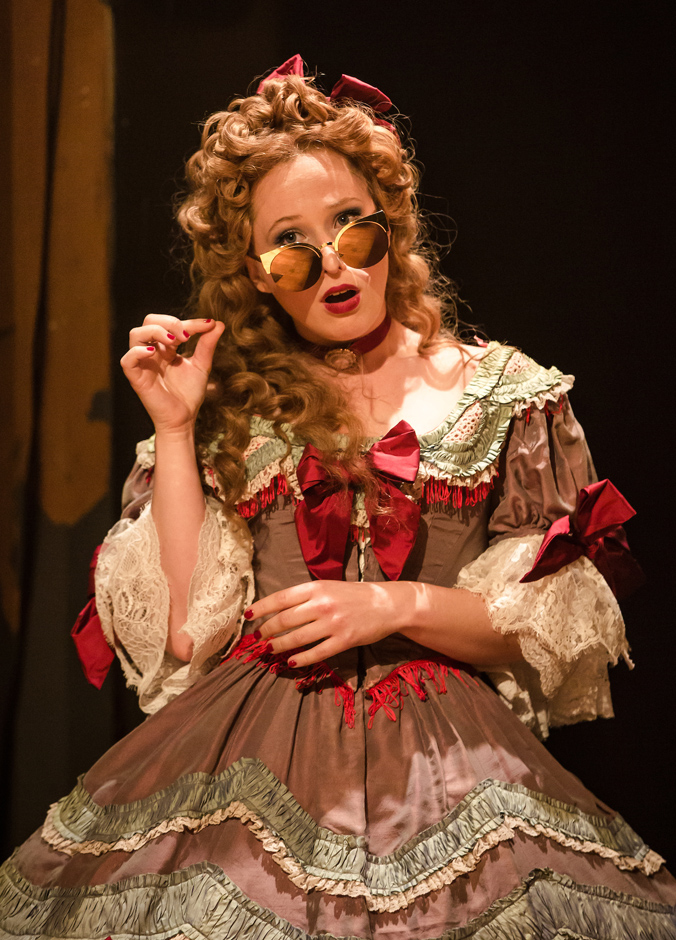 Celeste Dodwell in An Octoroon - Credit The Other Richard