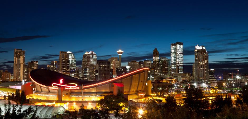 Calgary Skyline - Credit Tourism Calgary