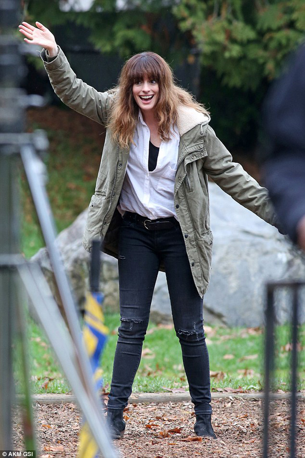 Anne Hathaway and in Colossal - Credit IMDB