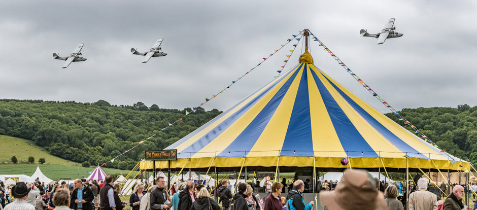 Chalke Valley History Festival - History tent