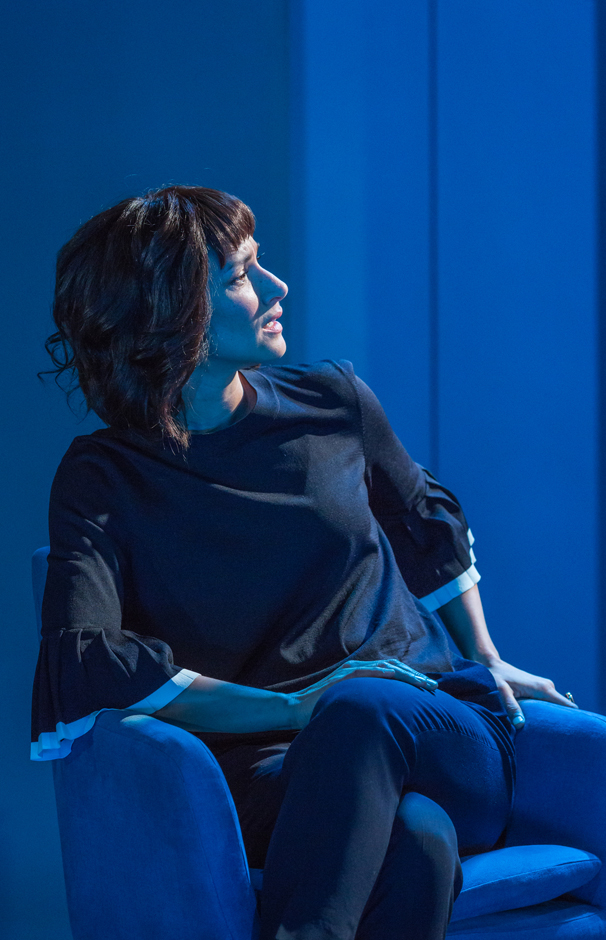 Indira Varma in The Treatment - Credit Marc Brenner