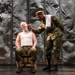 John Boyega is Woyzeck in this radically revised version of Büchner's masterpiece