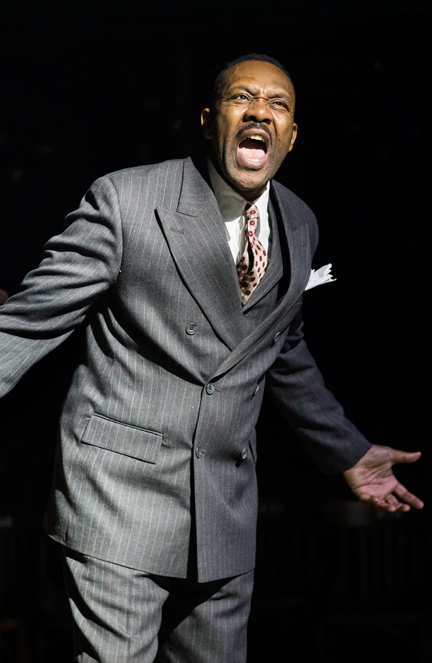 Lenny Henry in The Resistible Rise of Arturo Ui - Credit Helen Maybanks