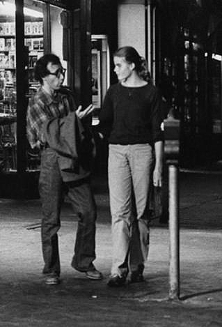 Woody Allen and Mariel Hemingway in Manhattan - Credit IMDB