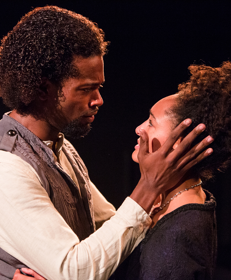 Marcus Griffiths and Natalie Simpson in The Cardinal - Credit Mitzi de Margary