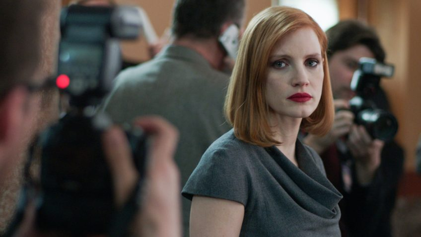 Jessica Chastain dominates John Madden's topical political thriller