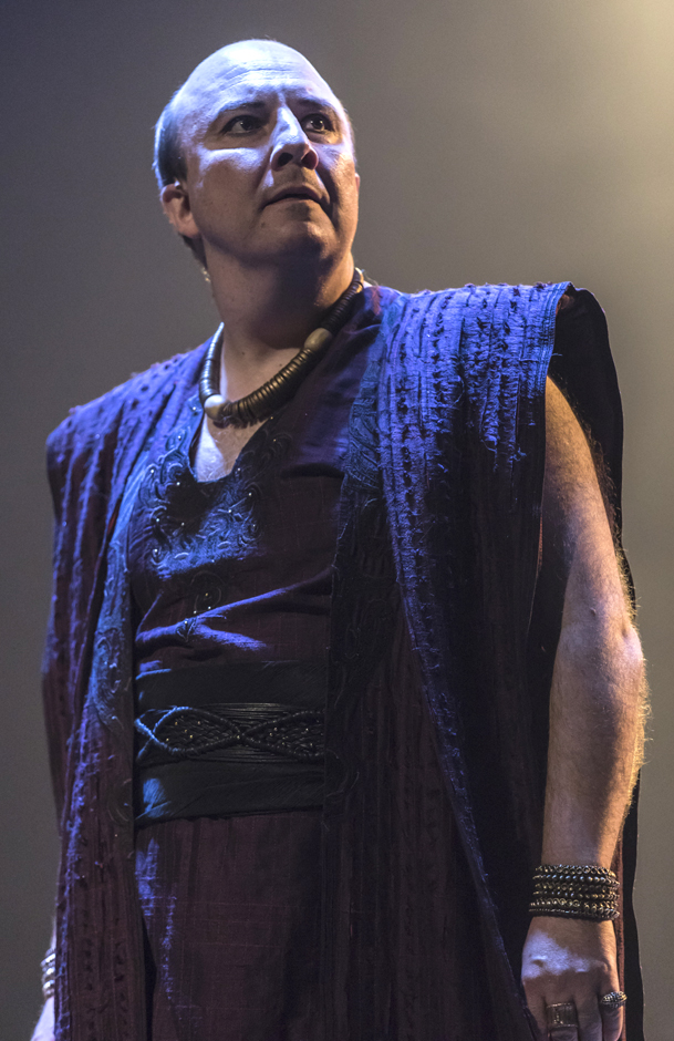 Paul Chahidi in Salomé - Credit Johan Persson