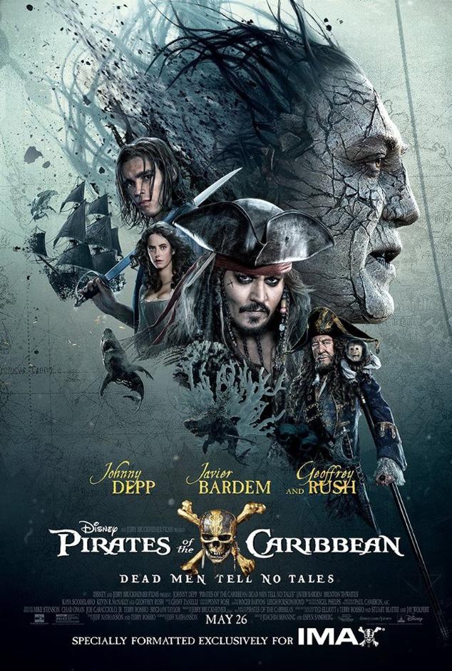 Pirates of the Caribbean: Salazar's Revenge - Credit IMDB