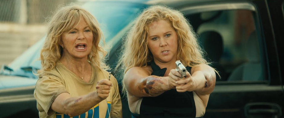 Goldie Hawn and Amy Schumer in Snatched - Credit IMDB