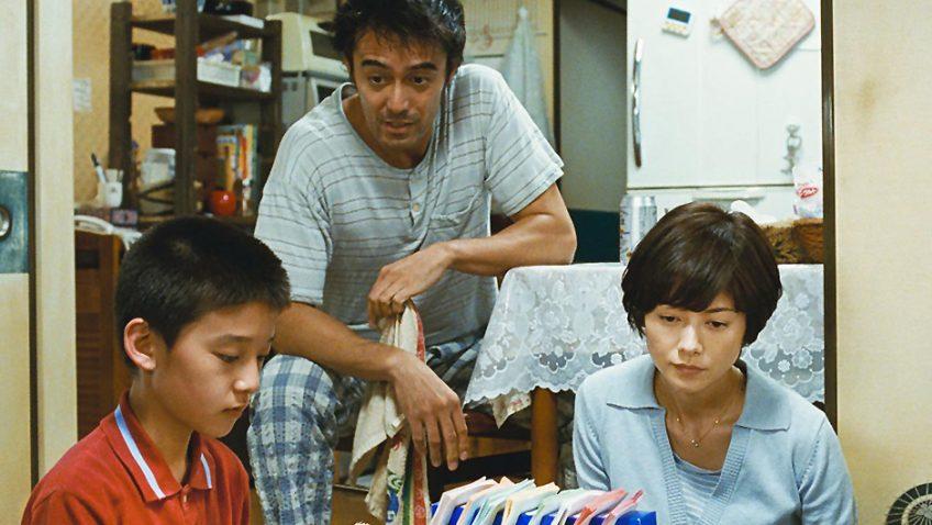 A charming gambler tries to reclaim his estranged family in Kore-eda's lastest family drama