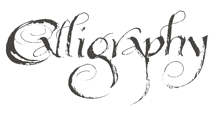 The beautiful art of Calligraphy
