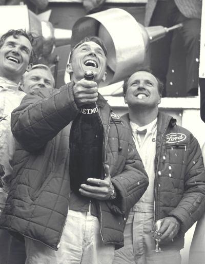 Dan Gurney - Champagne