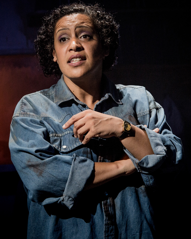 Krysten Cummings in Working - Credit Robert Workman