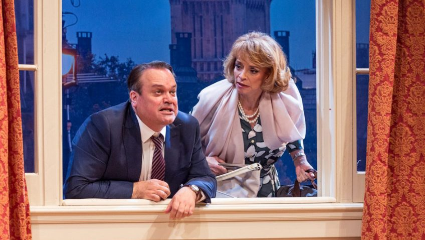 Ray Cooney's political farce, originally written in 1990 is now updated