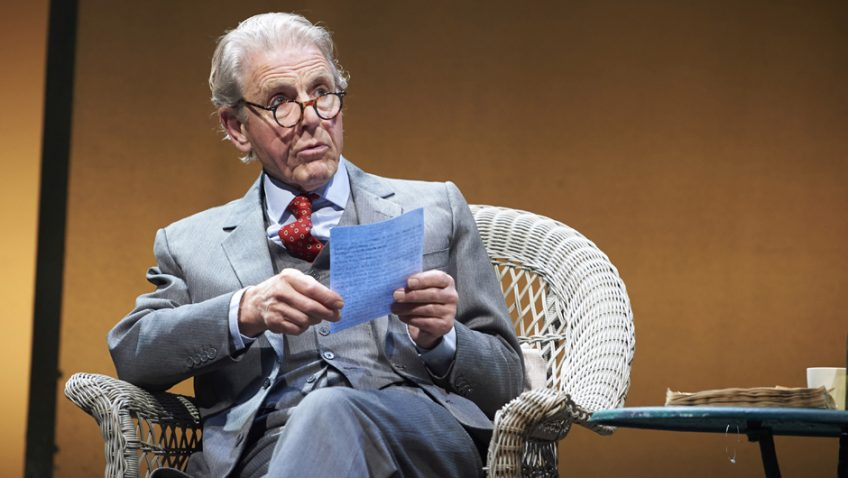 Edward Fox is touring a one-man show which celebrates John Betjeman, poet laureate