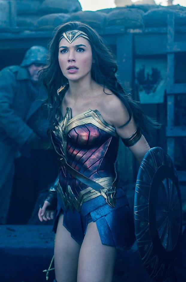 Gal Gadot in Wonder Woman - Credit IMDB
