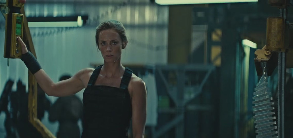 Emily Blunt in Edge of Tomorrow - Credit IMDB