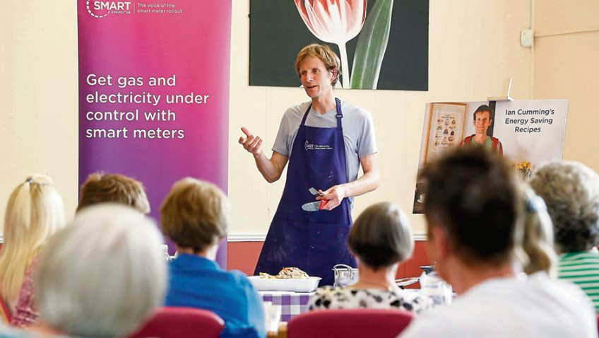 Energy saving cooking with Bake Off finalist Ian Cumming