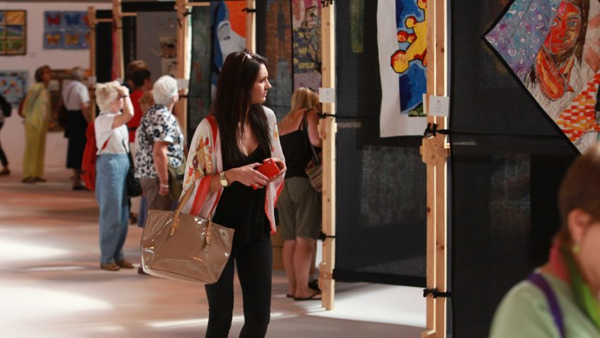 The Festival of Quilts is all set to open its doors