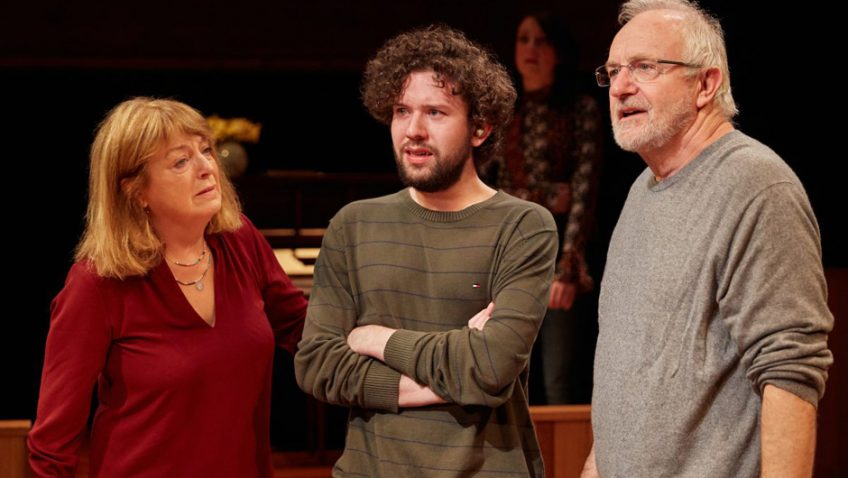 Raine's lively play is dotted with engaging moments of humour, pain and pathos