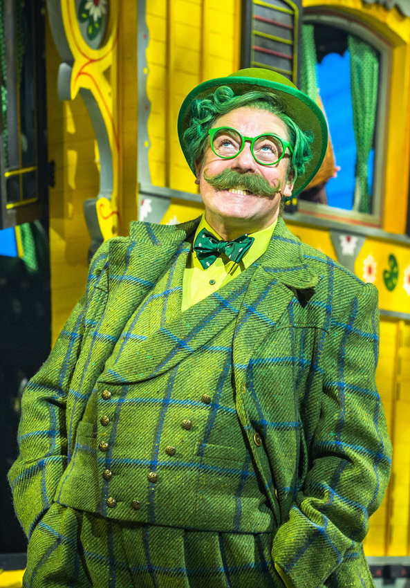 Rufus Hound in The Wind in the Willows - Credit Marc Brenner