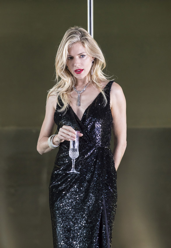Sienna Miller in A Cat on a Hot Tin Roof - Credit Johan Persson
