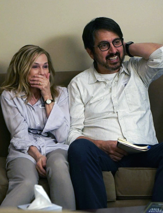 Holly Hunter and Ray Romano in The Big Sick - Photo by Nicole Rivelli - © WHILE YOU WERE COMATOSE, LLC - Credit IMDB