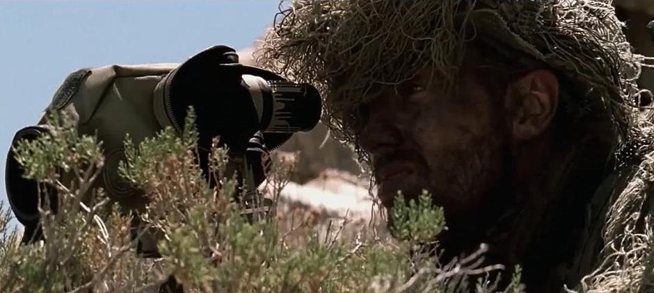 Aaron Taylor-Johnson in The Wall - Credit IMDB